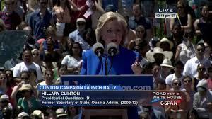 hillary clinton presidential campaign announcement jun 13 2015