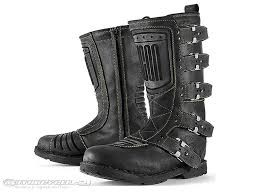 motorbike boots brown icon elsinore motorcycle boots review motorcycle usa