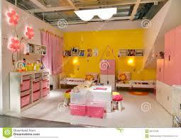 children room furniture in ikea editorial stock photo image