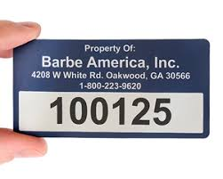 2 in x 4 in custom rectangle barcode labels barcode tags