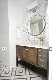 Free Bathroom Makeover - 1980 u0027s hall bathroom makeover allen roth kingscote espresso