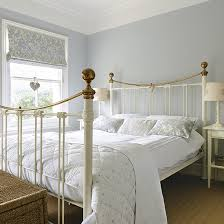 country bedroom ideas pale blue bedroom with traditional white bed frame country bedroom