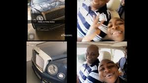 roll royce rills davido gift his father 329 325 brand new rolls royce phantom for
