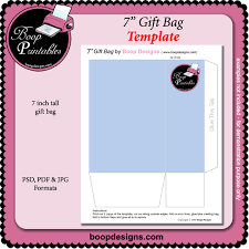 gift bag templates free printable 27 images of full page gift bag template infovia net