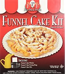 amazon com funnel cake starter kit funnel cake maker grocery
