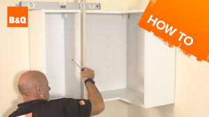 how to fit kitchen units part 1 assembling u0026 fitting units youtube