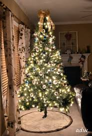 silver and gold tree theme lights decoration