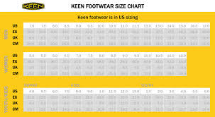 s keen boots size 9 keen sizing chart
