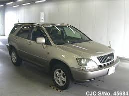 harrier lexus 2007 1998 toyota harrier gold for sale stock no 45684 japanese