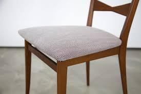 Esszimmerstuhl Bezug Vintage Esszimmerstuhl Aus Teakholz Mit Kvadrat Steelcut Bezug Bei