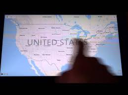 A Map Of The Us Using A Screen Reader To Explore A Map Of The Us Youtube