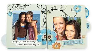friends photo album designed to inspire new chipboard album kits