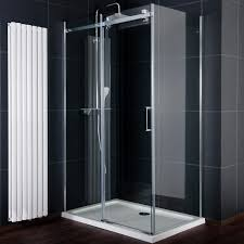 1200mm Shower Door 1200mm X 800mm Frameless Sliding Shower Enclosure 8mm Uk