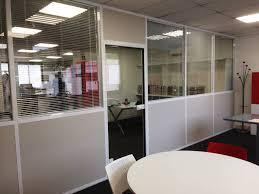 cloison modulaire bureau pose de cloison modulaire panneau semi vitré à aubagne pose de