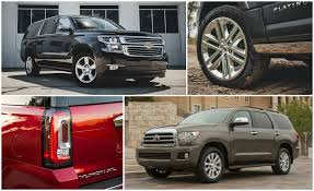 types of jeeps list big hauling every full size suv ranked from worst to best