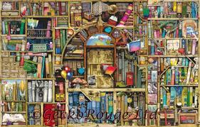 neverending stories by colin thompson cross stitch kit