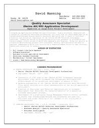 Resume Sample Quality Control by 76 Free Downloadable Quality Assurance Resume Templates