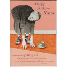 happy birthday mum card from the