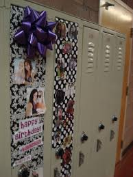Locker Wallpaper Diy by Innovative Diy Birthday Locker Decorations Concerning Cheap