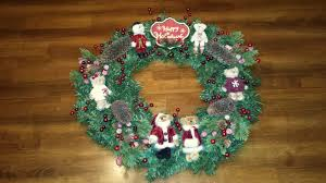 boyd u0027s bears wreath the enchanted manor