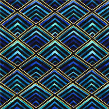 designer fabric black designer fabric with blue diamonds gold frames dots