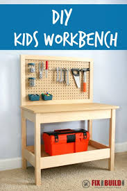 How To Make A Fold Down Workbench How Tos Diy by How To Make A Diy Kids Workbench Kids Workbench Workbenches And