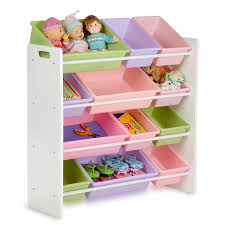 storage shelves with baskets amazon com honey can do srt 01603 kids toy organizer and storage