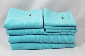 Lacoste Bathroom Accessories by Towels U0026 Washcloths Bath Home U0026 Garden