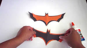 How To Make Easy Halloween Bats Out Of Paper Lana3lw Youtube