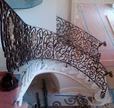 ornamental railing for the home stamford iron steel works inc