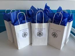 blue gift bags bulk employee gifting