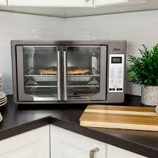 Oster Digital Convection Toaster Oven Oster Black Stainless Collection Digital French Door Oven With