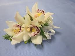 white corsages for prom white mini cymbidium orchid corsage wrist corsage 25 00 in