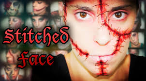 Halloween Special Effects Makeup Ideas by Halloween Fx Makeup Stitched Face Silvia Quiros Youtube