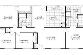 small 4 bedroom floor plans small four bedroom house plans find home decor