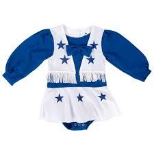 Dallas Cowboys Halloween Costume Dallas Cowboys Cheerleader Infant Toddler Cheer Uniform Infant