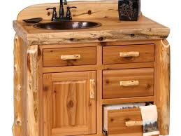 Diy Rustic Bathroom Vanity Diy Bathroom Cabinets Open Shelf Vanity With Free Plans Diy