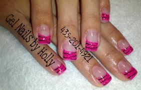 pink zebra gel nails gel nails and toes by holly 435 709 toes