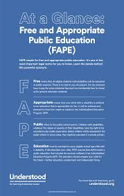 quotes about education vs experience what is free and appropriate public education definition of fape
