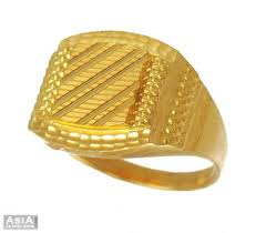 gold rings design for men mens gold ring 22k ajri54063 22k gold mens ring in fancy