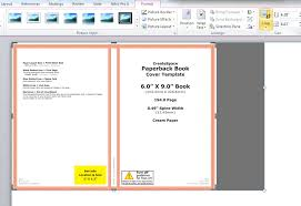 format buku di microsoft word how to make a full print book cover in microsoft word for