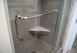 Shower Door Towel Bar Replacement Towel Racks For Shower Doors Doors Ideas