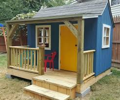 Plans To Build A Wooden Storage Shed by Best 25 Playhouse Plans Ideas On Pinterest Kid Playhouse