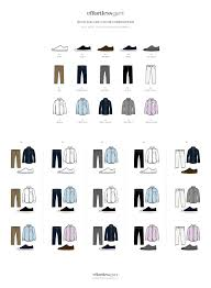 match clothes quick and easy color combos u2022 effortless gent