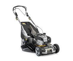 stiga twinclip 55 sveq b self propelled petrol lawn mower