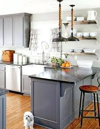 blue gray kitchen cabinets blue gray cabinets having a moment blue grey kitchen cabinets via