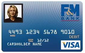 debit cards from f m bank