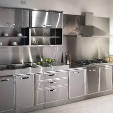 metal kitchen cabinets home design styles