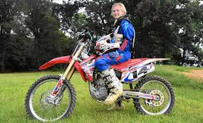 pro female motocross riders harford 17 overcomes injury to place in national motocross