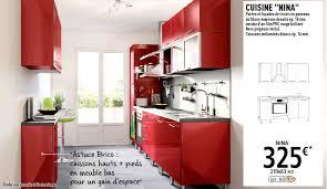 brico depot meuble cuisine cuisine 30 cm brico depot